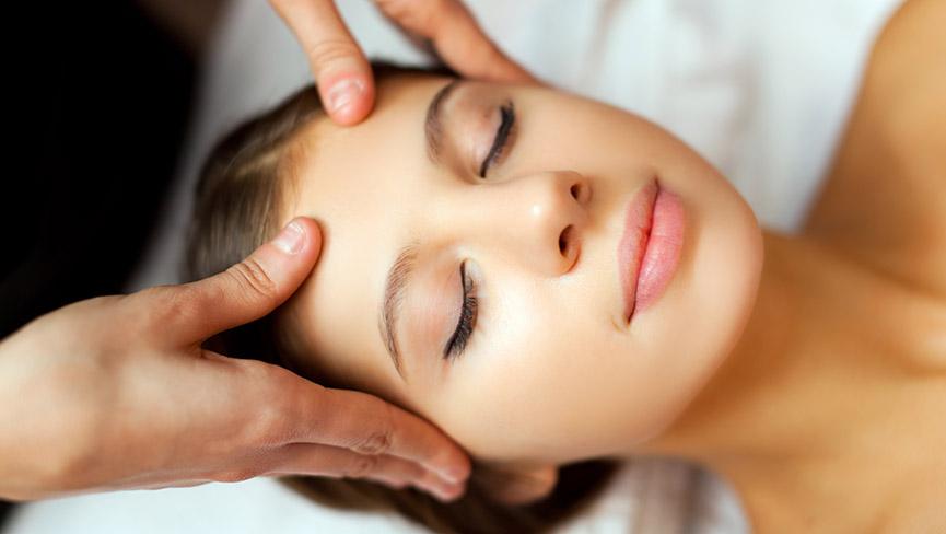 Acupressure massage image